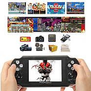 PAP GAMETA II Plus портативная приставка | 3000 встроенных игр 8-64 бит | поддержка карт памяти, фото 5