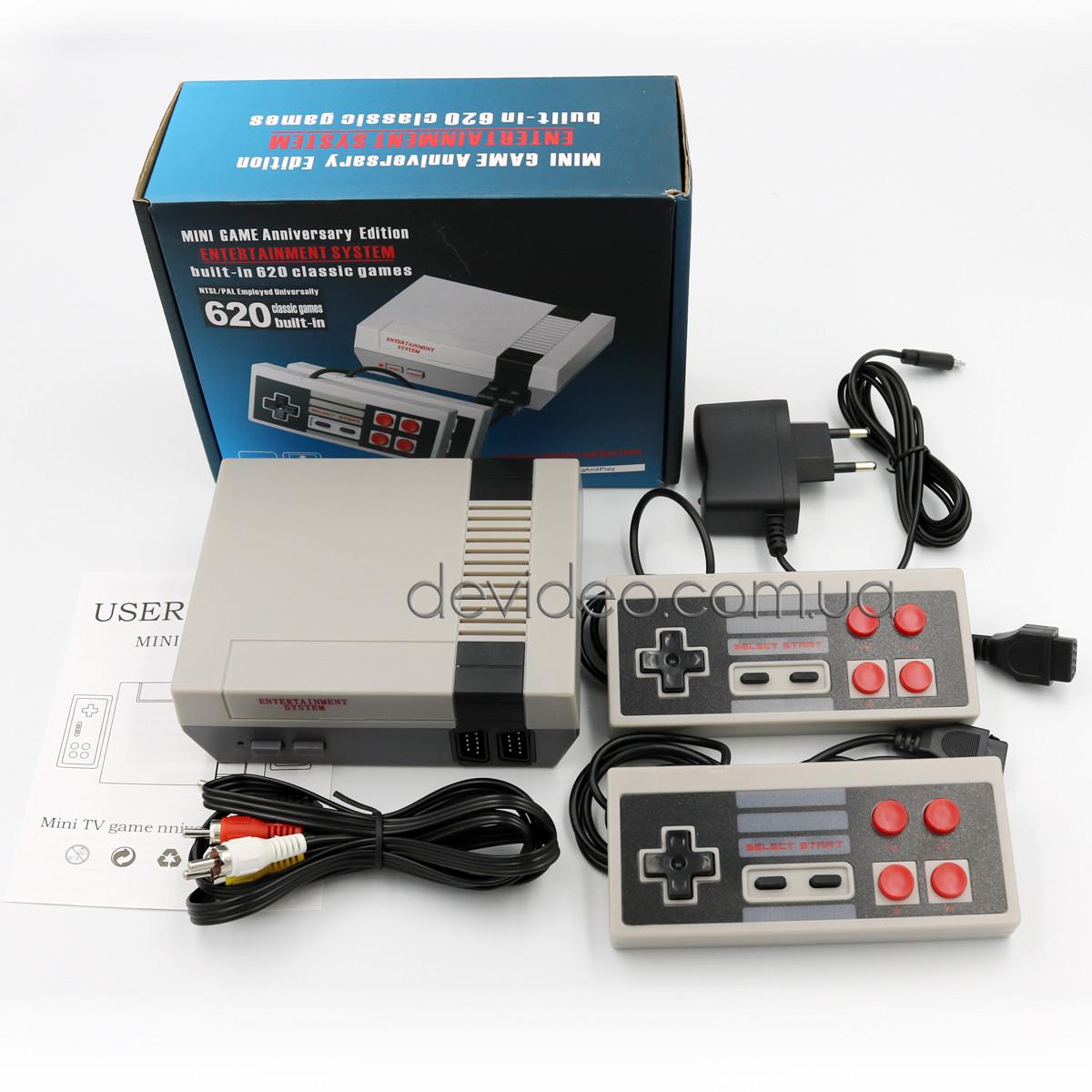 Игровая приставка Dendy NES 620 | 620 встроенных игр 8 бит