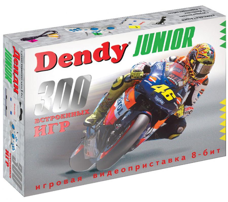 Игровая приставка Dendy Junior   300 встроенных Денди игр 8 бит