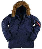 Куртка Alpha Industries Alpha N-3B Parka Replica M Blue, КОД: 1313203