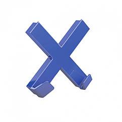 Магнит-держатель супермощный Dahle Mega Cross 90x90 мм Синий 4009729067994, КОД: 1837904