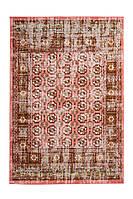 Винтажный ковёр с бахромой Ariya 625 Rot, красный, 80 см x 150 см, 1.92