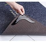 Липучки-фиксаторы для ковров угловые 4 шт/наб., фото 4