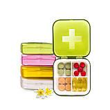 Карманная таблетница Pocket Pill Case Mini. Оранжевый, фото 4