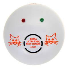 Ультразвуковой отпугиватель грызунов мышей крыс АО-201 Aokeman до 50 м² Белый nas353439, КОД: 1840619