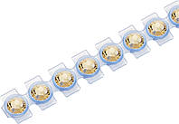 Кристаллы Сваровски Swarovski Elements Knorr Prandell для текстиля на ленте SS10 2,8 мм Топаз 21, КОД: