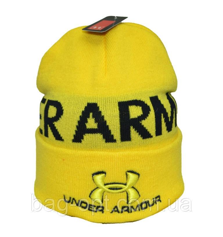Шапка желтая Under Armour