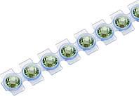 Кристаллы Сваровски Swarovski Elements Knorr Prandell для текстиля на ленте SS10 2.8 мм Малахит, КОД: 1538829