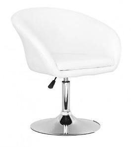 Біле крісло Мурат для салону краси
