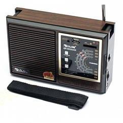 Мультидиапазонний радиоприемник Golon RX-9933 UAR Коричневый 20053100174, КОД: 1810511