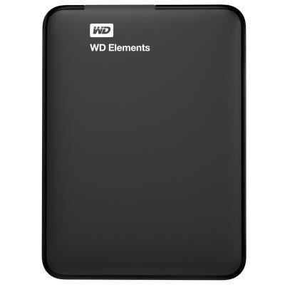"""HDD ext 2.5"""" USB 1.0 Tb WD Elements Black (WDBUZG0010BBK-WESN)"""