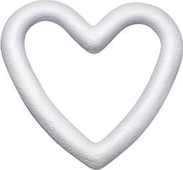 Пенопластовая заготовка сердце контурное Knorr Prandell 15 см, КОД: 1936427