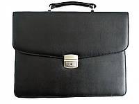 Портфель для документов малый Дорожка 27х35х7 см Black 7226, КОД: 1890069