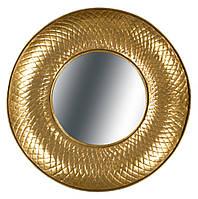 Металеве настінне дзеркало Cleo 290 золоте, золоте
