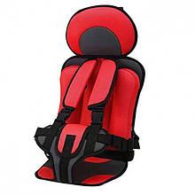 Универсальное бескаркасное автокресло Oxgift для детей Красный hubxWAi10271, КОД: 2395238