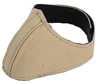 Автопятка кожаная для женской обуви Бежевый 608835-5, КОД: 1385126
