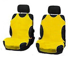 Чехлы-майки Elegant на передние сидения желтые EL 105 245  новый дизайн