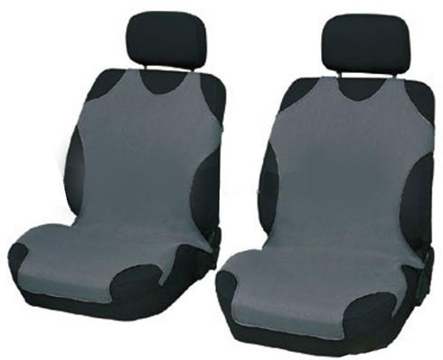 Чохли-майки Elegant на передні сидіння темно-сірі EL 105 250 новий дизайн
