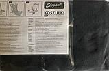 Чохли-майки Elegant на передні сидіння темно-сірі EL 105 250 новий дизайн, фото 3