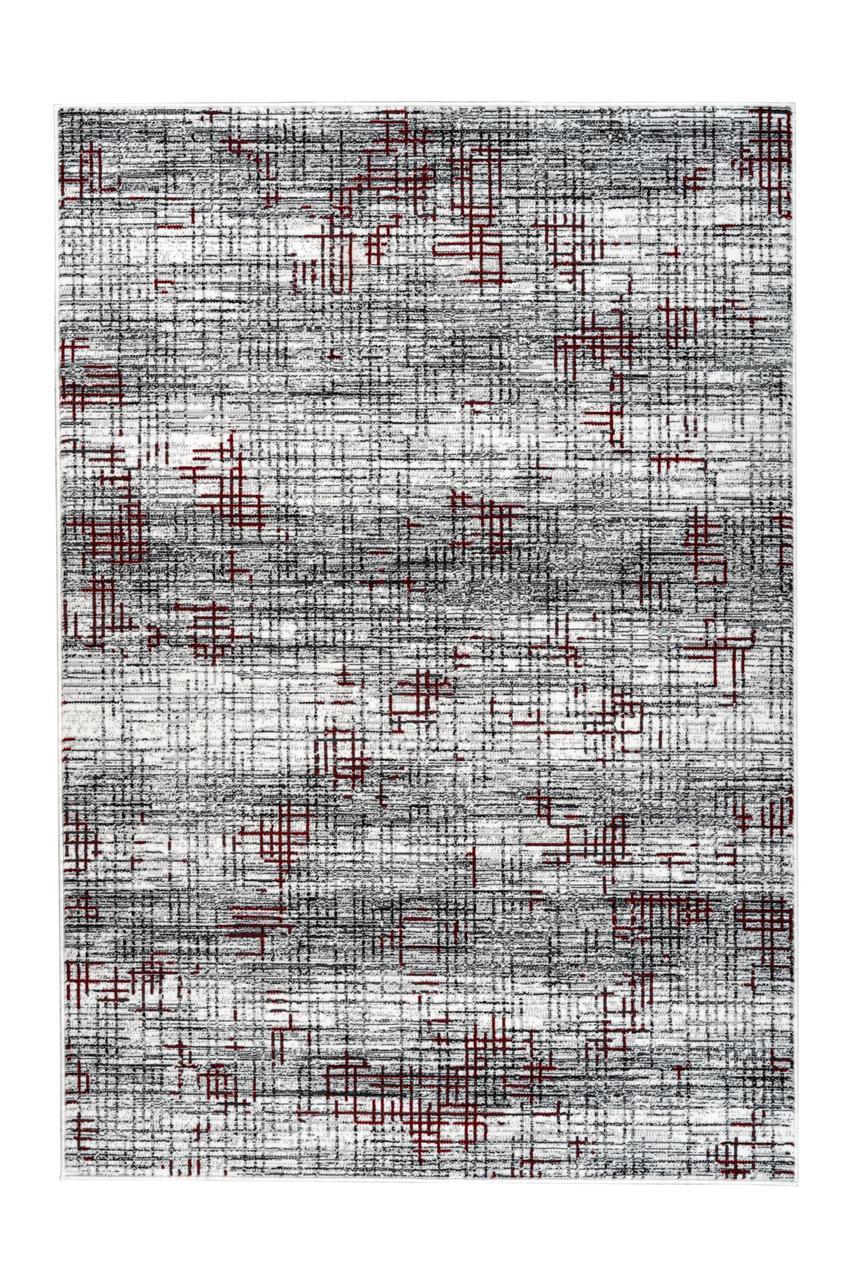 Килим Vancouver 310 Білий/Червоний, Білий, червоний, 120 см x 170 см, 3.978