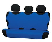 Чохол-майка Elegant на заднє сидіння темно-синя EL 105 241 новий дизайн