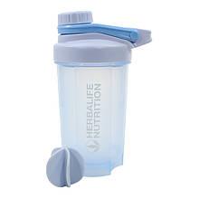 Спортивная бутылка-шейкер Lesko HC06 Синий объем 500ml 4909-14344, КОД: 2401436