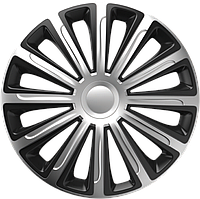 Колпаки R13 Elegant Trend Silver&Black