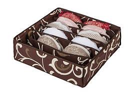 Коробочка для білизни Adenki на 7 секцій Гарячий шоколад 76-103-1022509, КОД: 1852101