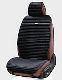 Накидки на автосидіння чорні Napoli повний комплект Elegant EL 700 116, фото 2