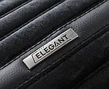 Накидки на автосидіння чорні Napoli повний комплект Elegant EL 700 116, фото 3