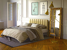 Металлическая кровать Tenero Фуксия 1600х1900 Бежевый 100000258, КОД: 1555669