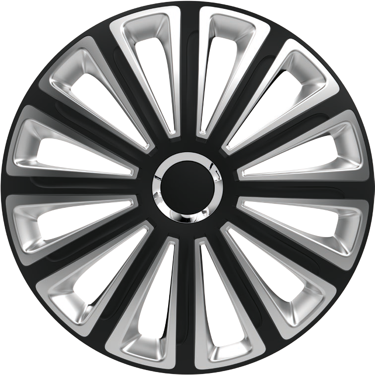 Колпаки R14  Elegant Trend RC Black & silver