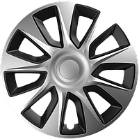 Колпаки R15 Elegant Stratos Silver&Black