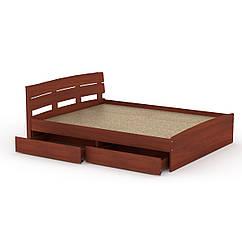 Кровать Модерн 160 + 2 ящика Компанит яблоня, КОД: 2350869