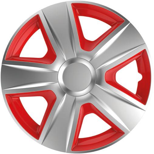 Ковпаки R15 Elegant Esprit Silver&red