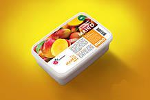 Натуральне заморожене пюре манго YaGurman 1кг. YG005, КОД: 1850927