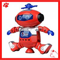 Игрушка танцующий интерактивный светящийся робот музыкальный детский лучший подарок ребенку для мальчика