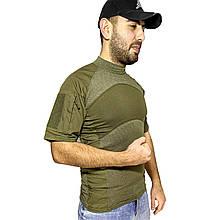 Тактическая футболка с коротким рукавом ESDY A424 XL Зеленый 4253-12358, КОД: 1679674