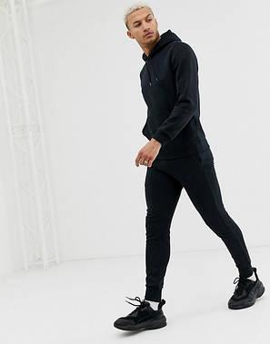 Мужской  спортивный костюм Кенгуру Черный, фото 2