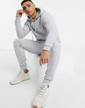 Мужской  спортивный костюм Кенгуру серый, фото 2