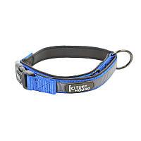 Ошейник для собак TUFF HOUND 1427 Blue L с утяжкой 5323-16484, КОД: 2402532