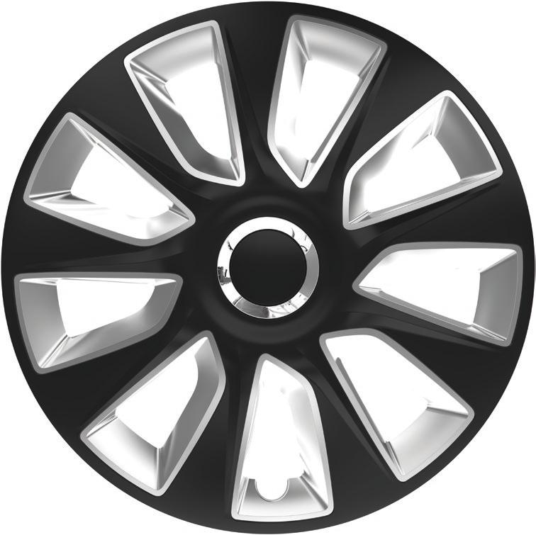 Ковпаки R16 Elegant Stratos RC Black&Silver