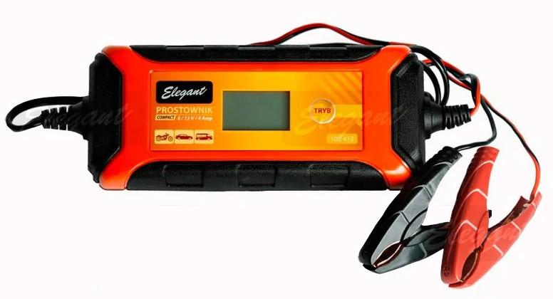 Зарядний для акумуляторів 6/12V 1А/4А Elegant Compact EL 100 415
