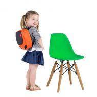 Детский стул Тауэр Вaby, пластиковый, дерево бук, цвет зеленый