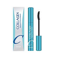 Водостойкая тушь для объма ресниц с коллагеном Enough Collagen Waterproof Volume Mascara 9 мл 880, КОД: