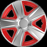 Колпаки R13 Elegant Esprit Silver&red