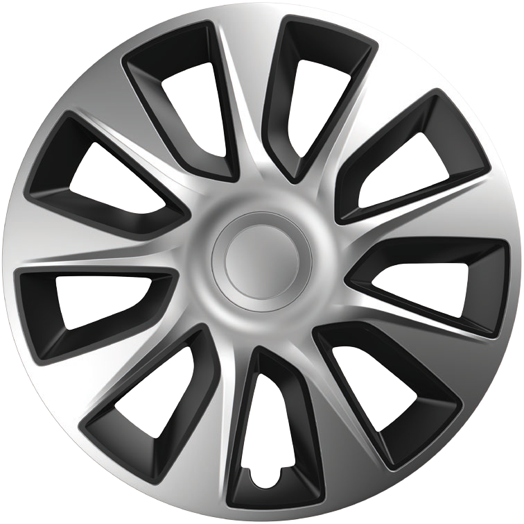 Ковпаки R13 Elegant Stratos Silver&Black