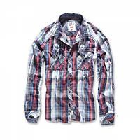 Рубашка Brandit Central City XL Белый с синим 4013, КОД: 272465
