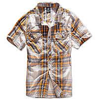 Рубашка Brandit Roadstar XXL Темно-серый с желтым 4012.60, КОД: 1381780