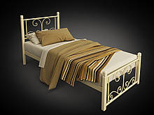Кровать Tenero Нарцисс мини на деревянных ножках 800х2000 мм Бежевый 100000207, КОД: 1641310
